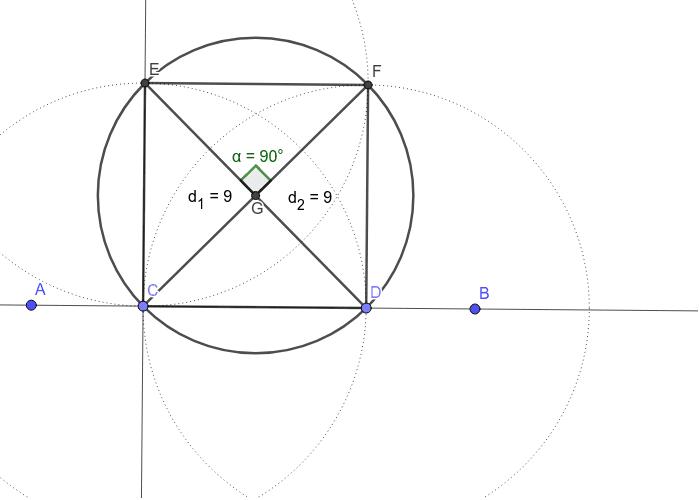 Dijagonale kvadrata Pritisnite Enter za pokretanje.