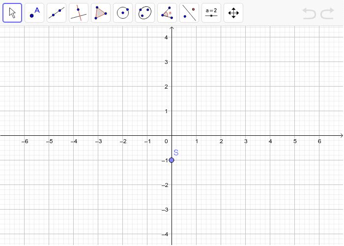 3. Nacrtaj četverokut ABCD i napravi centralnu simetriju preko točke S kao centra simetrije. Pritisnite Enter kako bi pokrenuli aktivnost