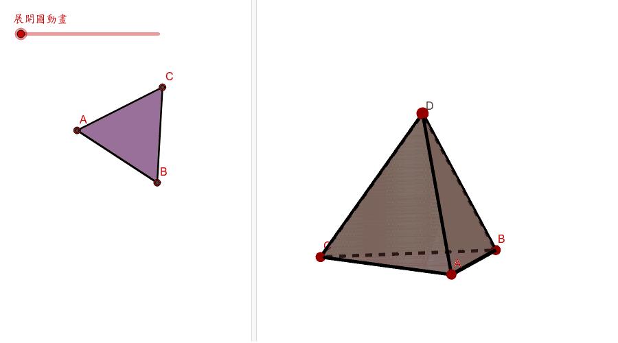三角錐體 按 Enter 鍵開始活動
