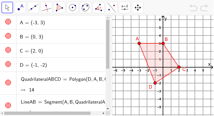 6. Graph a dilation of the given figure from the origin with a scale factor of 2 Press Enter to start activity