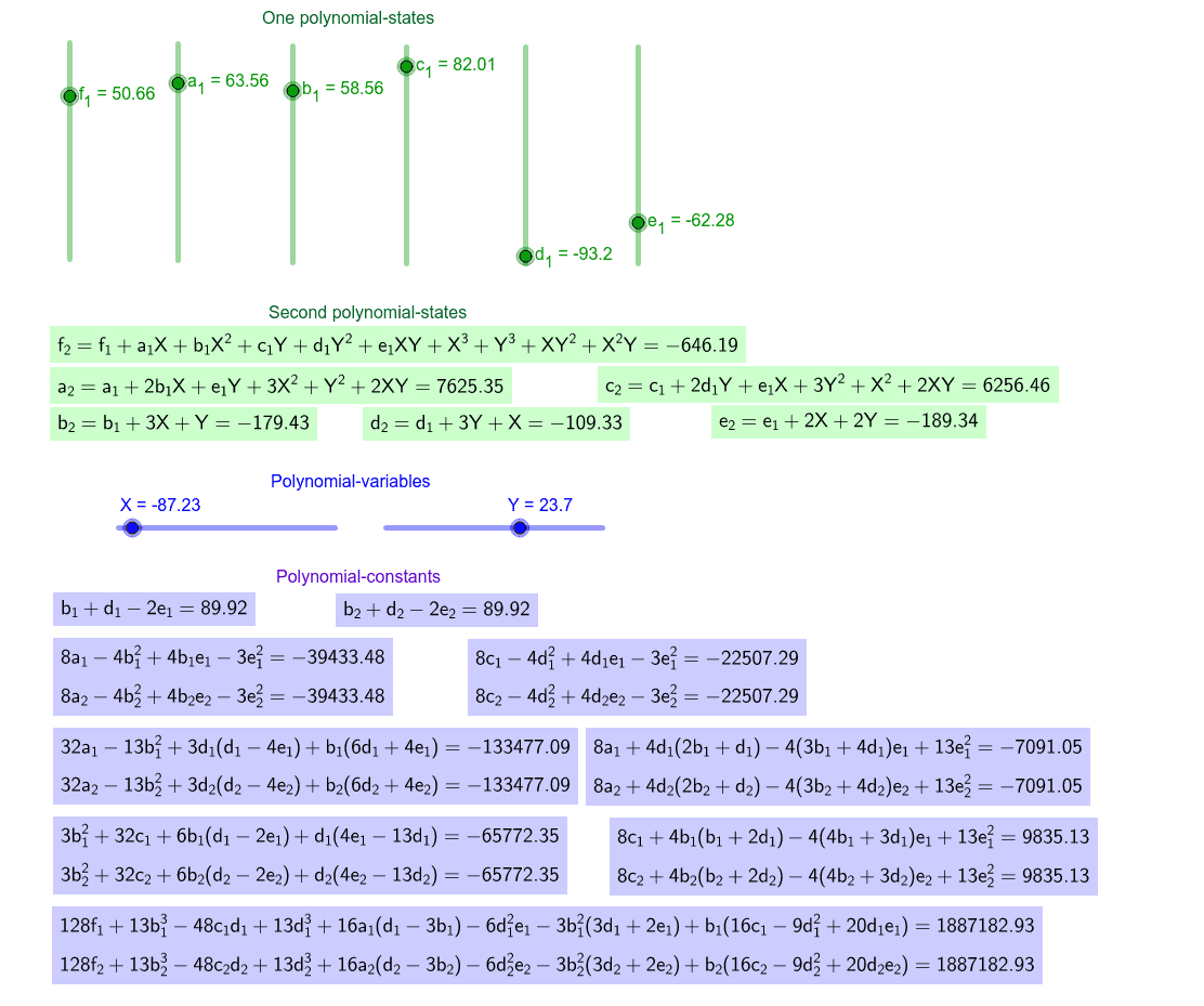 About polynomial-states, polynomial-variables, polynomial-functions and polynomial-constants see in https://algebra21blog.wordpress.com/principles/. Press Enter to start activity