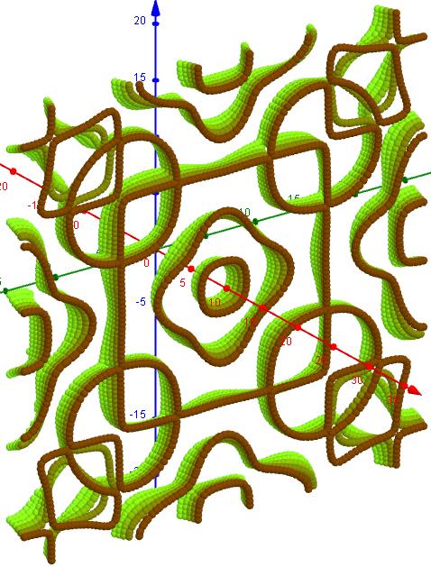 Chladni Figuren- 2 3 5, s=1, L=20    25-30