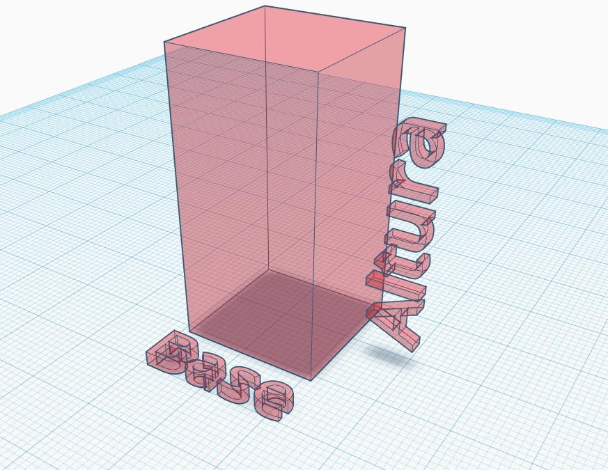 O volume delimitado por todo o retângulo representa o fluido, enquanto temos descritos sua altura e uma área de base.
