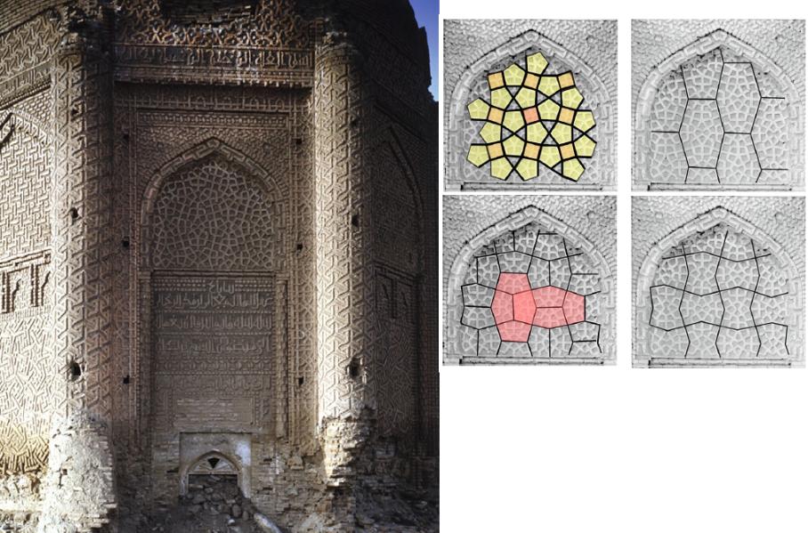 afbeeldingen uit artikel van Carol Bier: The Decagonal Tomb Tower at Maragha and its Architectural Context