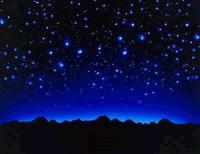 3. As estrelas, numa noite estrelada