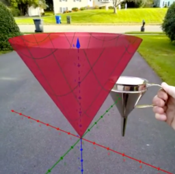 GeoGebra AR in 3D GC: How to Set Up and Explore