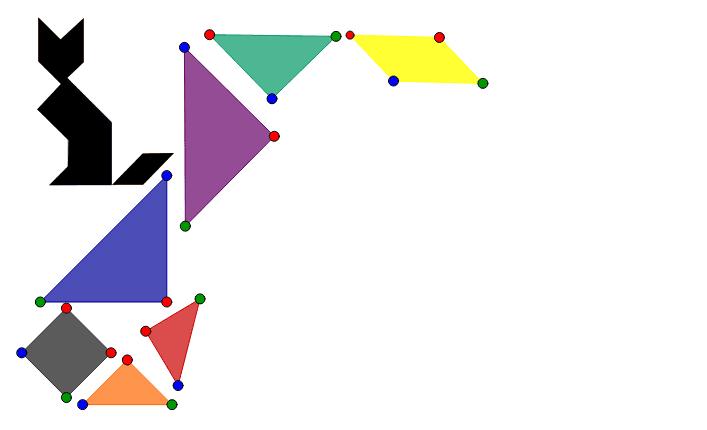 Tangram Puzzle Press Enter to start activity