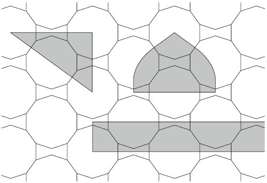 tekening: Cromwell - The search for Quasi-Periodicity in Islamic 5-Fold Ornament