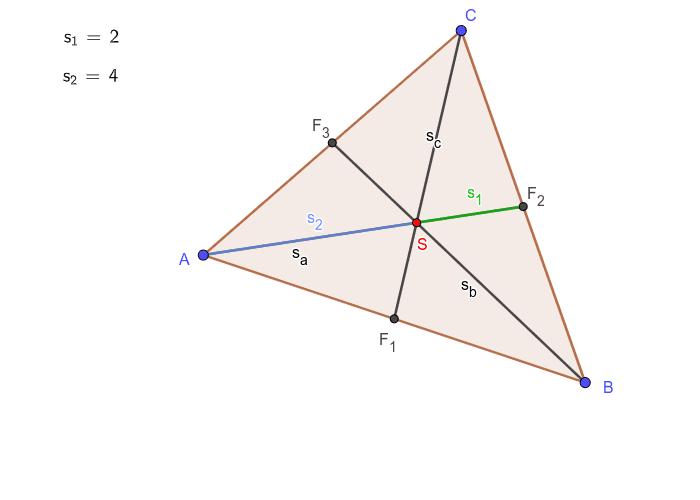 A háromszög súlypontja Press Enter to start activity