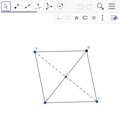 What type of quadrilateral is this and why? Press Enter to start activity