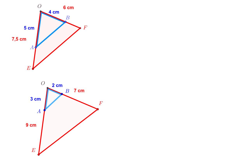 """(AB) et (EF) sont-elles parallèles ? Tapez """"Entrée"""" pour démarrer l'activité"""