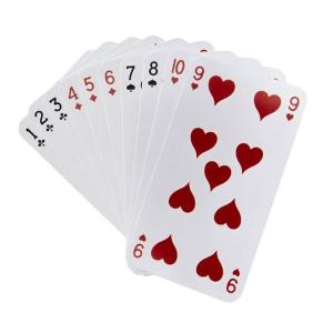 Cual es la probabilidad de que al sacar una carta de la baraja sea un 9 de corazones?