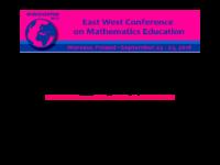 East-West GeoGebra Conference - Poland