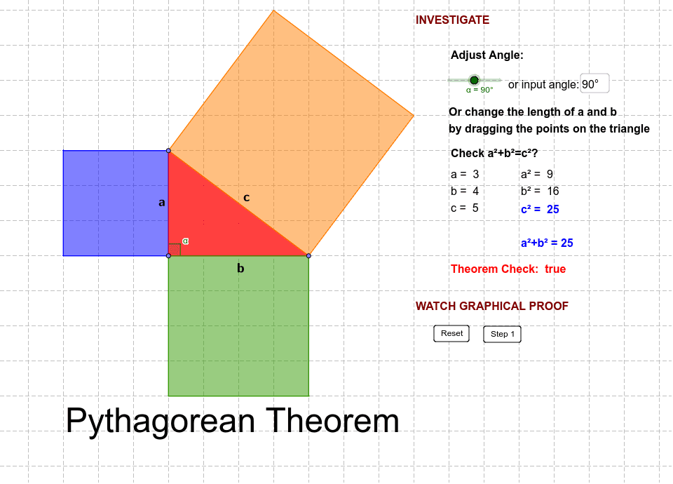 2. Kdfedor Pythagorean Proof Press Enter to start activity