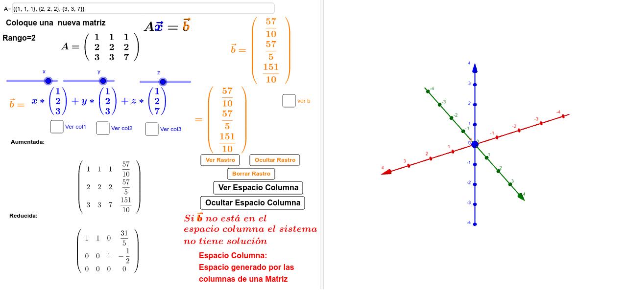 Simulador Espacio Columna