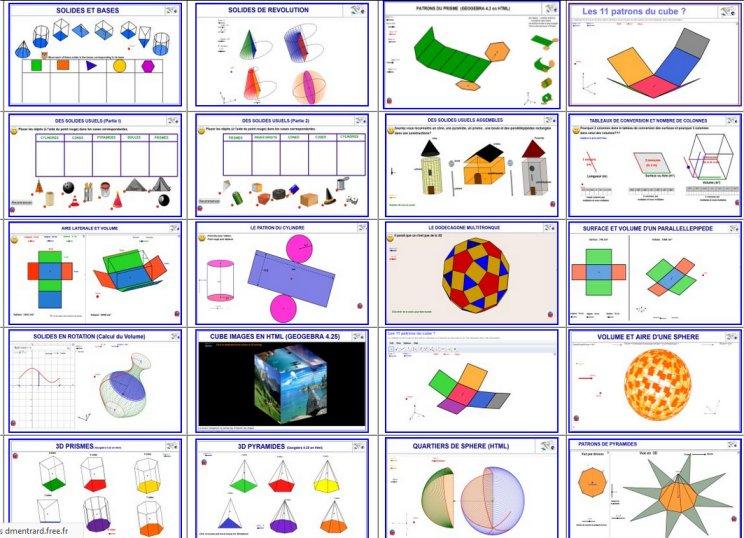 http://dmentrard.free.fr/GEOGEBRA/Maths/Export5/Espace.htm