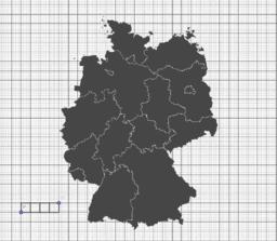 Wie groß ist Deutschland?