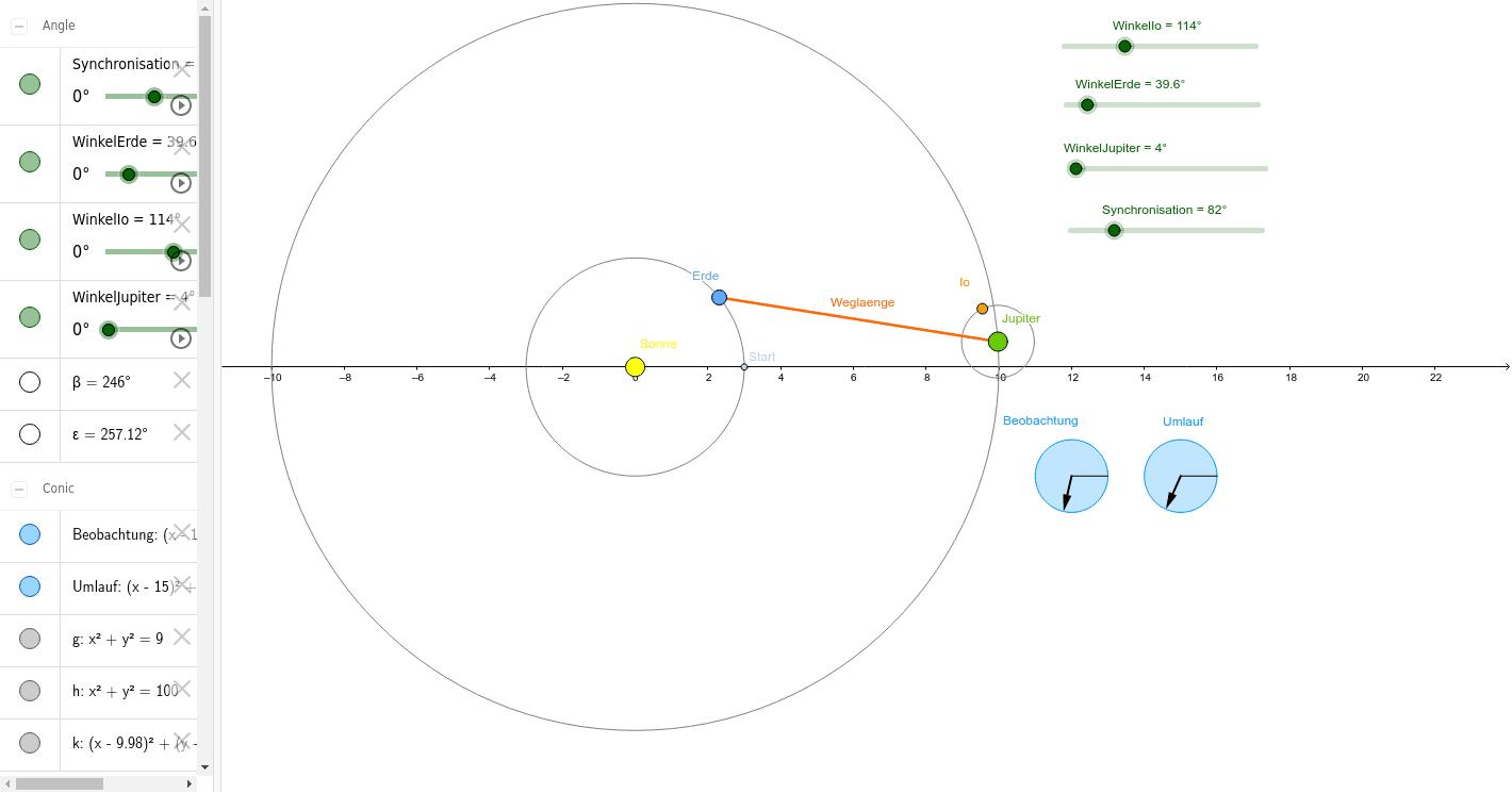 2-2-2 Lichtgeschwindigkeit Drücke die Eingabetaste um die Aktivität zu starten