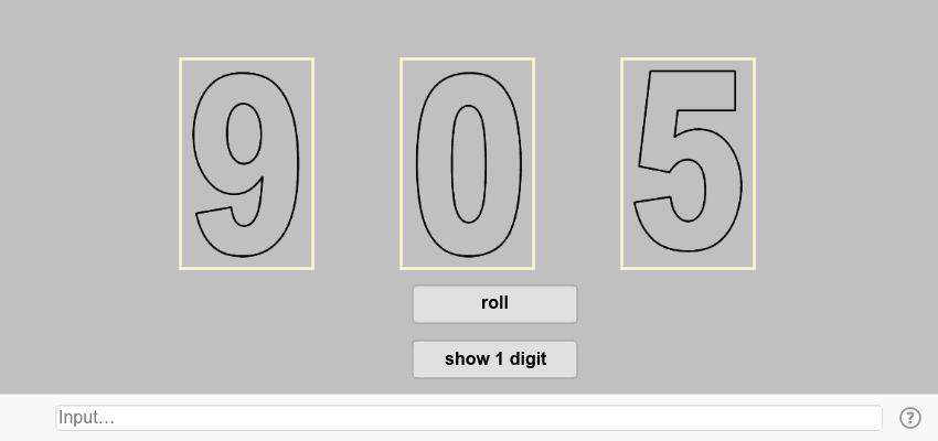 5.3 〈抽數字〉 Press Enter to start activity