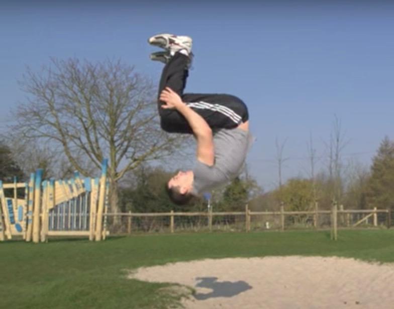 Is it dangerous to do the flip?