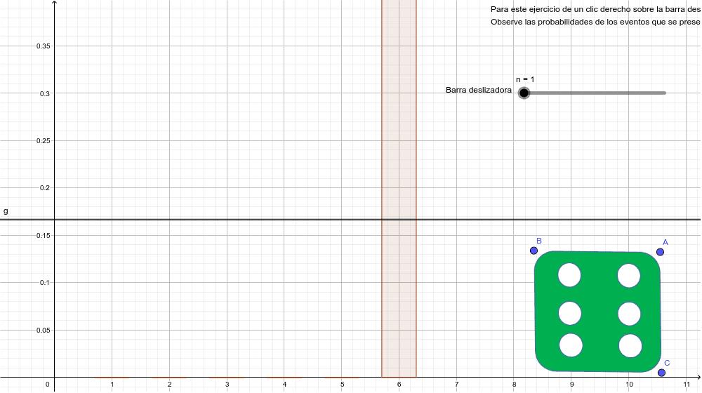 Simulación del lanzamiento de un dado Presiona Intro para comenzar la actividad