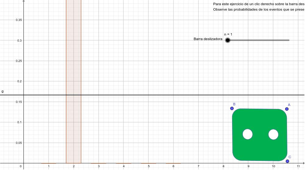 Tarea 61. Simulación del lanzamiento de un dado Presiona Intro para comenzar la actividad