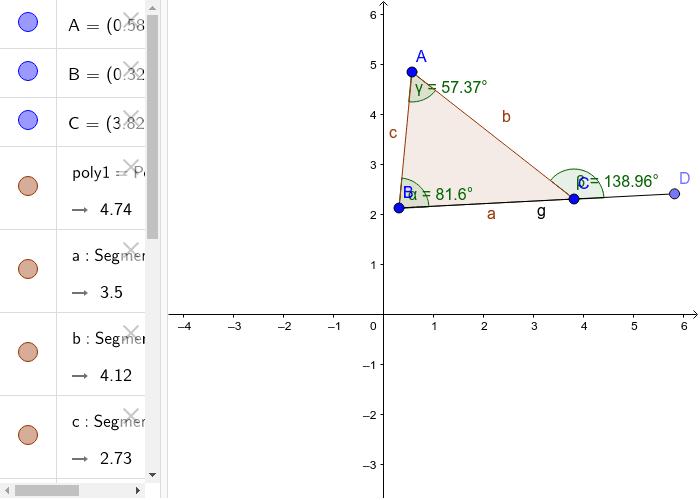 Exterior Angle Theorem Press Enter to start activity