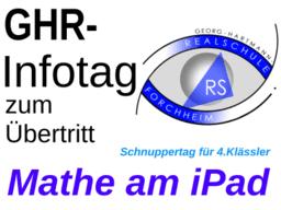 GHR-Infotag: Mathe am iPad