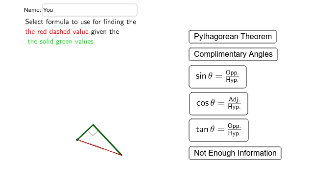 Applet with general equation choices Press Enter to start activity