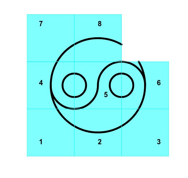 Déplacer les carrés (move squares) Press Enter to start activity
