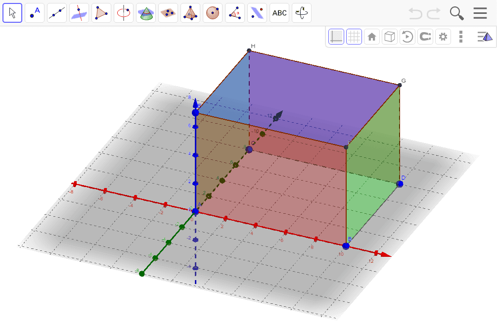 Calculate the surface area of the 4 sides and the top. Press Enter to start activity