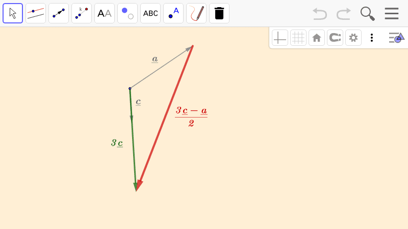 PRACTICE 6.  Operations with vectors  Press Enter to start activity