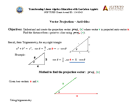 Vector Projection - Activity.pdf