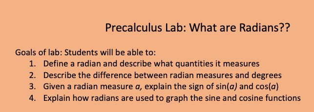 Radians Lab