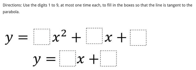 Creation of this resource was inspired by this Open Middle problem created by Erin Stenger: