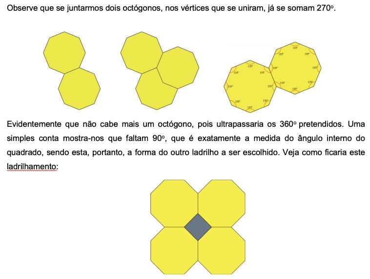 4 - Mais algumas informações importantes sobre a construção de mosaicos.
