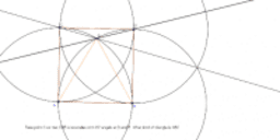 Coxeter Triangle in Circle