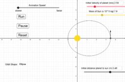 Circular and Elliptical Orbits