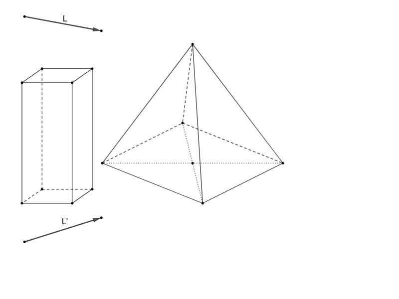 Konstruktion in der Parallelenprojektion Drücke die Eingabetaste um die Aktivität zu starten
