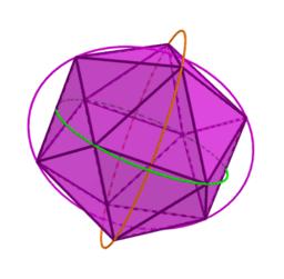 Icosahedron to Borromean Rings