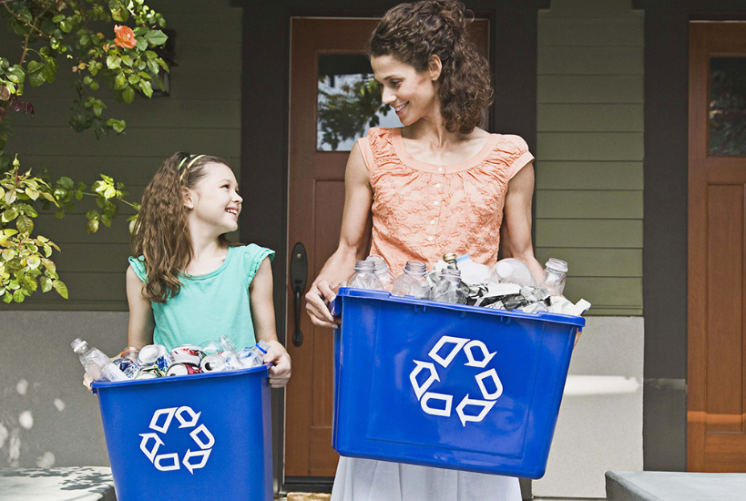 How do we teach kids to recycle?