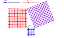 Pythagorean Squares
