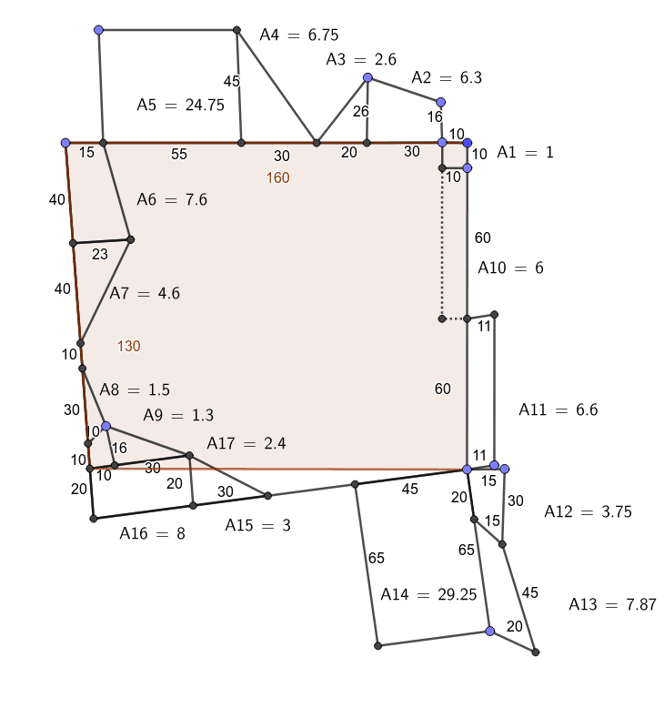 Interpretation of the obverse (field plan, with corrections) Press Enter to start activity