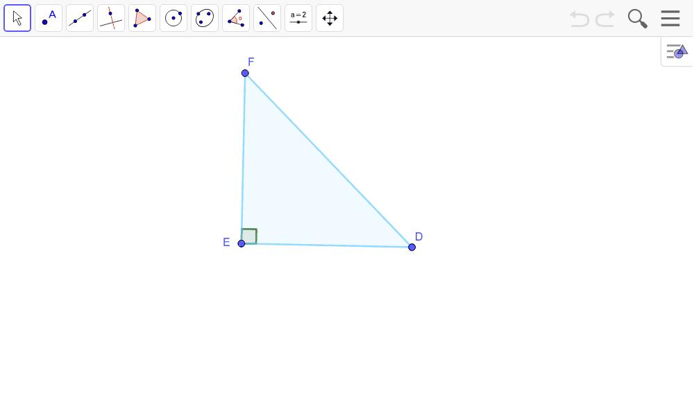 """Tracer la hauteur dans un triangle Tapez """"Entrée"""" pour démarrer l'activité"""