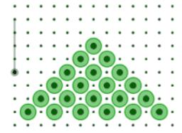 Disk Pyramid Puzzle