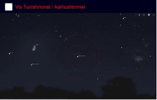 Månens parallakse Tryk Enter for at starte aktiviteten