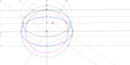 Gömb ábrázolása merőleges vetítésben