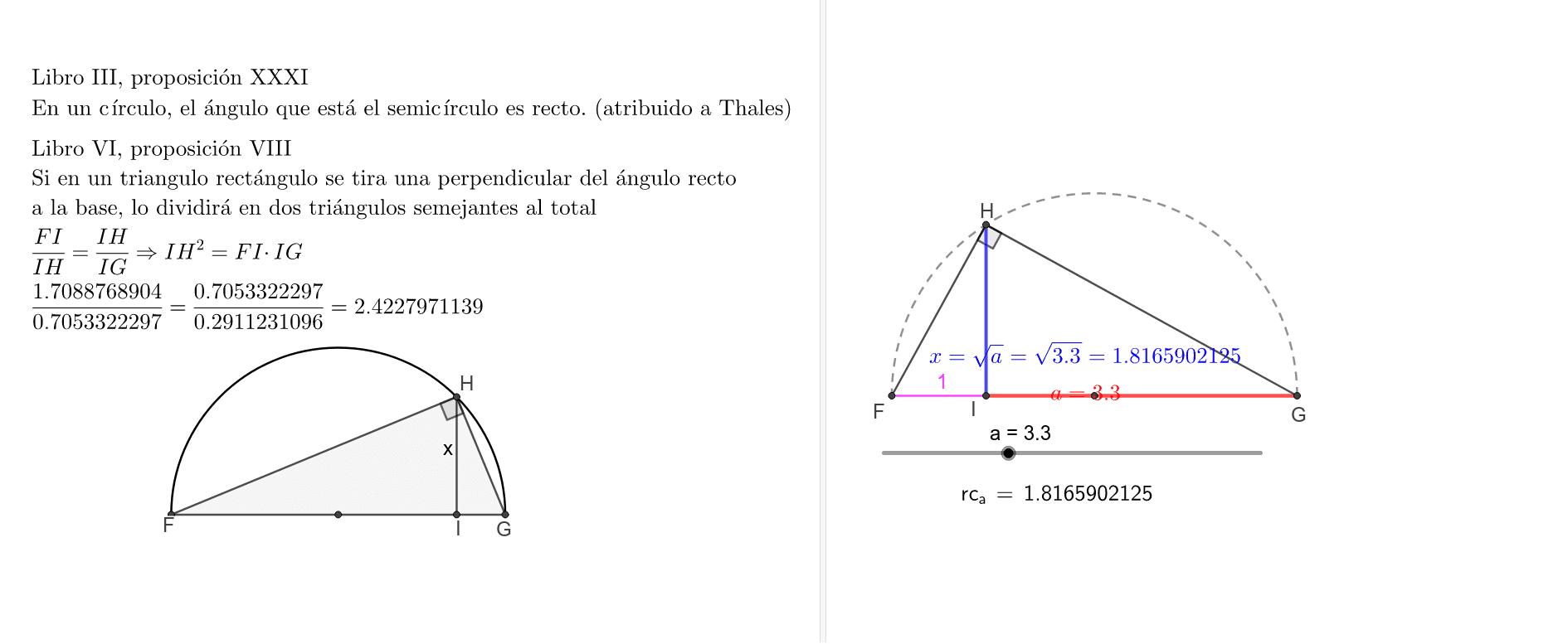 Cálculo de la raíz cuadrada de un número Presiona Intro para comenzar la actividad