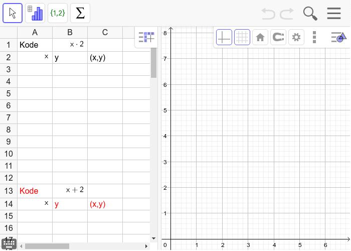 Afsæt og forbind punkterne i koordinatsystemet. Tryk Enter for at starte aktiviteten