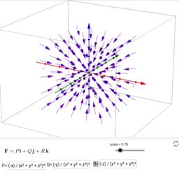 Vector field 3D